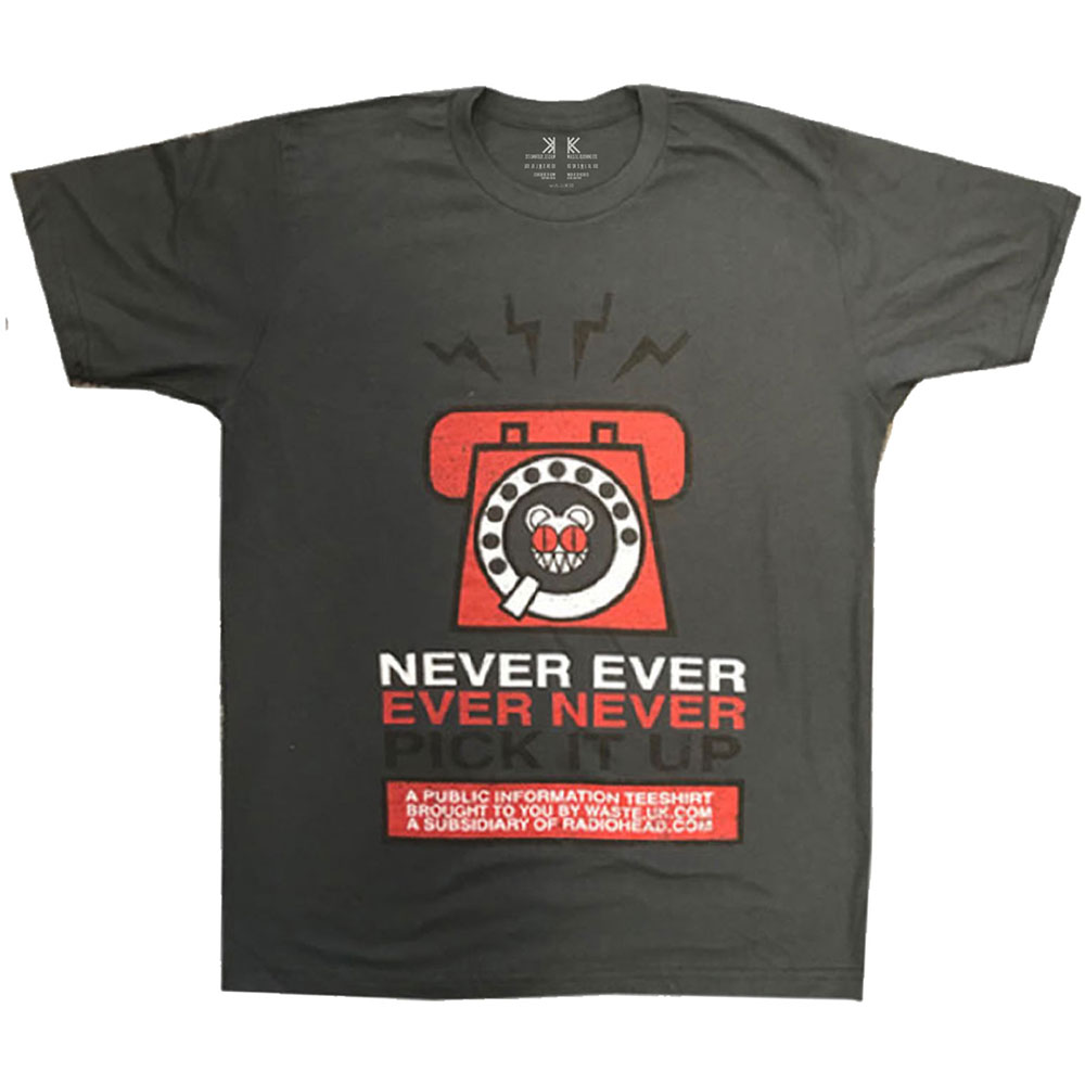 Radiohead - Never Pick It Up T-Shirt