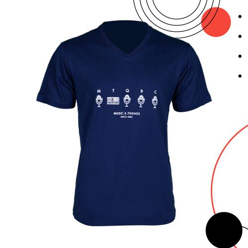 B5 T-shirt Navy Blue