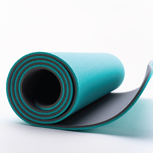 ZIVA Fitness Portable Deluxe Foam Yoga Mat (5 mm.)