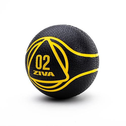 Ziva Medicine Ball Black (2 kg)