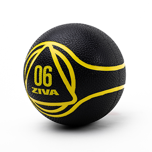 Ziva Medicine Ball Black (6 kg)