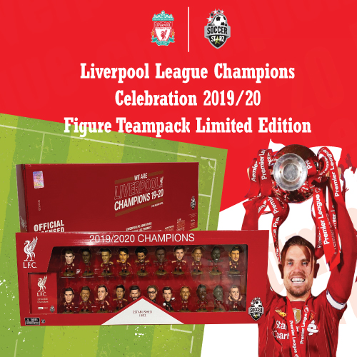 Liverpool League Champions Celebration 2019/20 Figure Teampack Limited Edition.