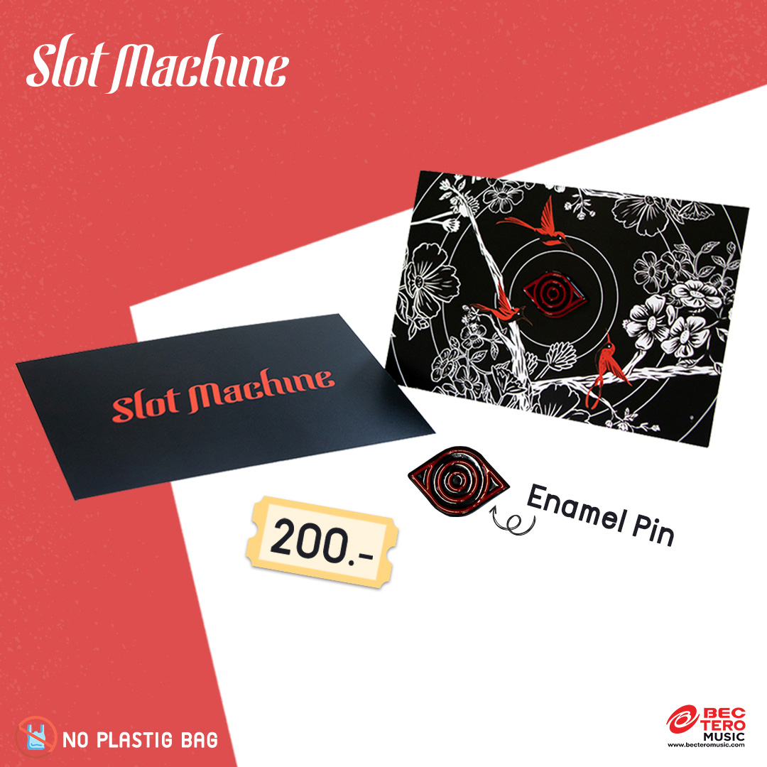 Slot Machine : Enamel Pin