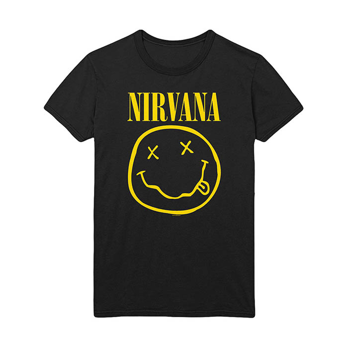 Pre order Nirvana - Smiley T-Shirt