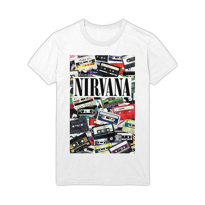 Pre order Nirvana - Cassettes T-Shirt