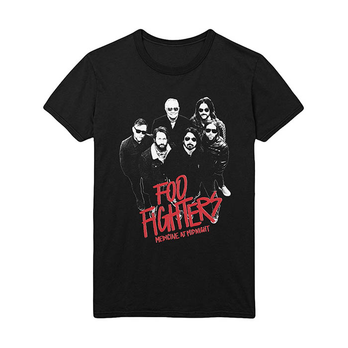 Pre order Foo Fighters - Medicine At Midnight Photo T-Shirt