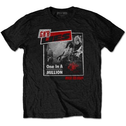 Pre order Guns N'' Roses - On In A Million T-Shirt