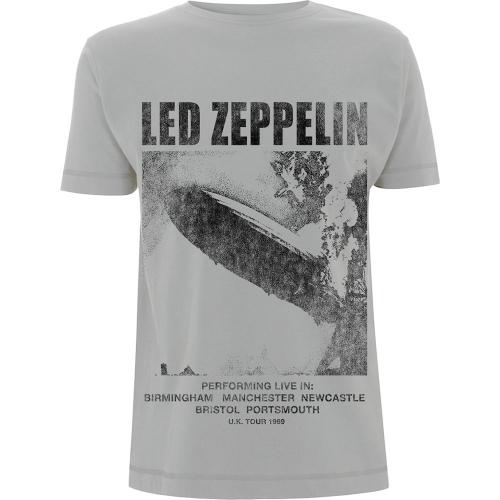 Pre order Led Zeppelin - UK Tour ''69 T-Shirt
