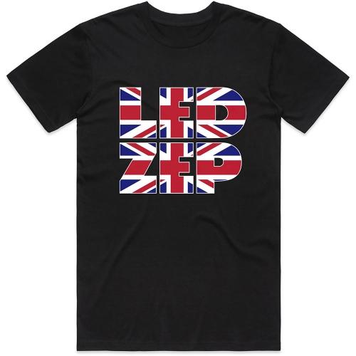 Pre order Led Zeppelin - Union Jack Logo T-Shirt