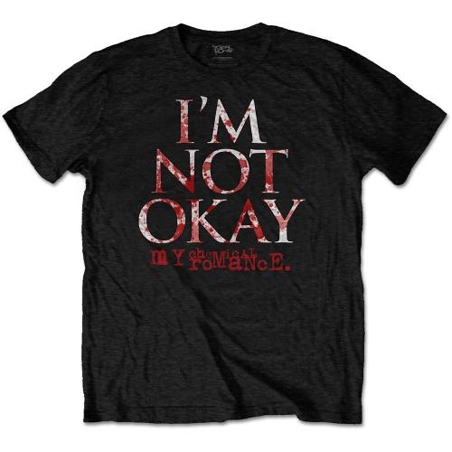 Pre order My Chemical Romance - I''m Not Okay T-Shirt