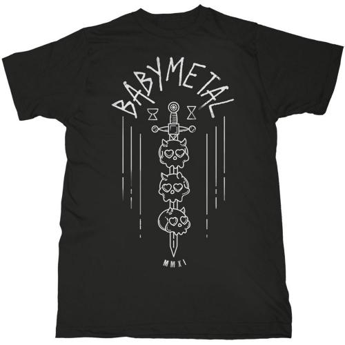 Pre order Babymetal - Skull Sword T-Shirt