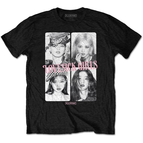 Pre order Blackpink - Lovesick Girls T-Shirt