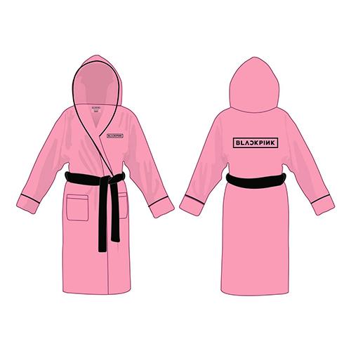 PRE ORDER Blackpink - Logo Pink Bathrobe