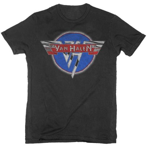 Pre order Van Halen - Chrome Logo T-Shirt