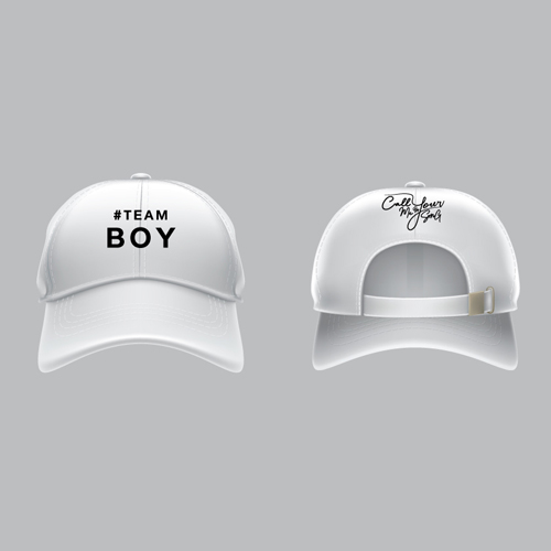 Cap #Teamboy [White]