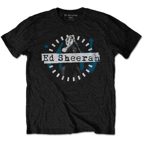 Pre order Ed Sheeran - Dashed Stage Photo T-Shirt