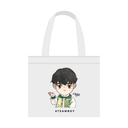 Cartoon Fan Art Tote Bag  #TEAMฺBOY