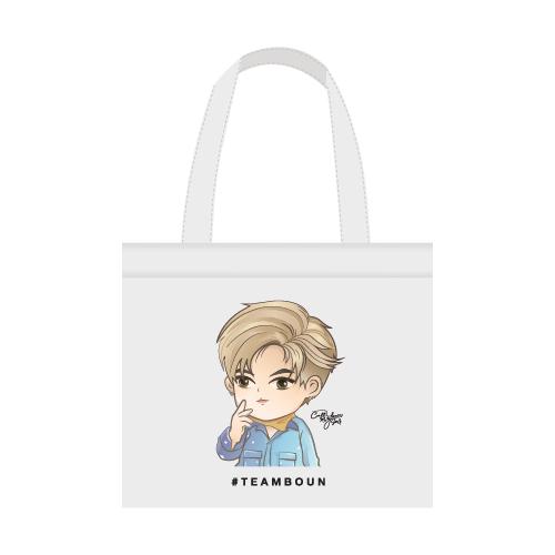Cartoon Fan Art Tote Bag #TEAMBOUN
