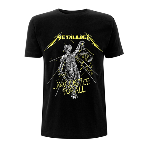 Pre order Metallica - And Justice For All Tracks T-Shirt
