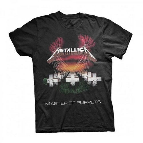 Pre order Metallica - MOP European 1986 Tour T-Shirt