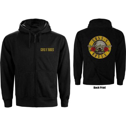 Pre order Guns N'' Roses - Classic Logo Zipped Hoodie