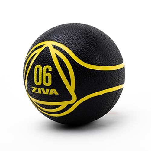 Ziva Medicine Ball Black (6 kg)